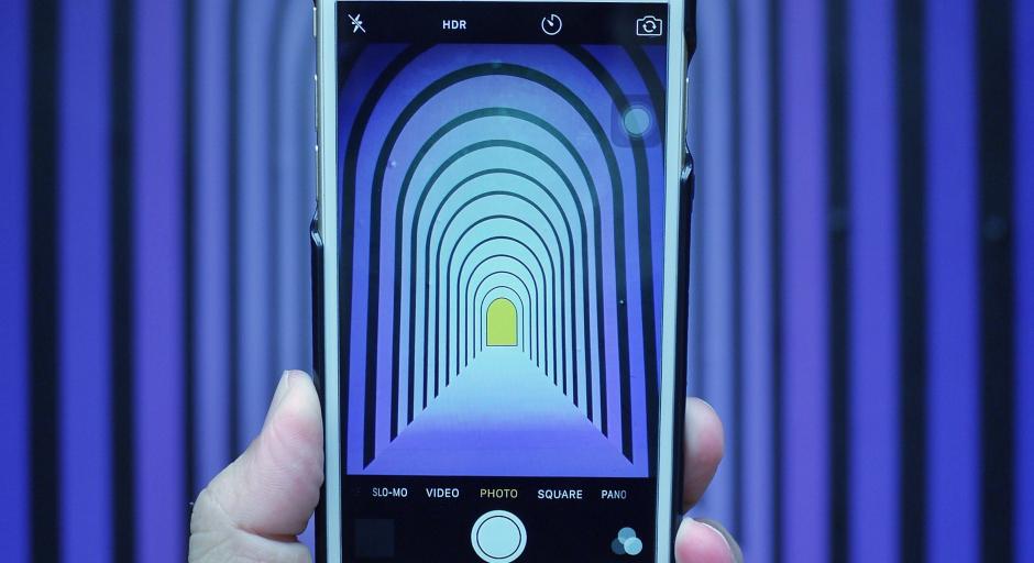 smartphone mobile infinity mirror