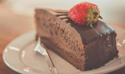 cake and fork