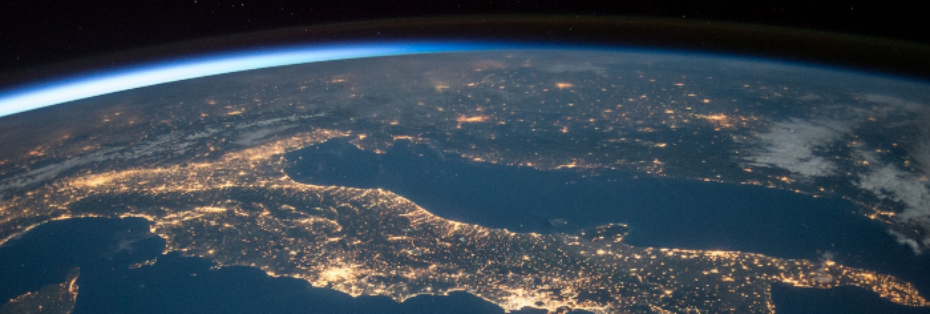 earth from space part time digital nomad