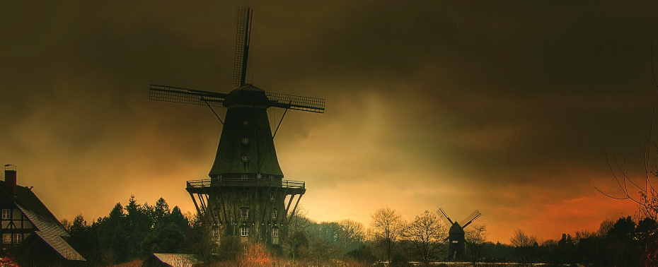 dark windmill