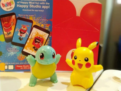 happy meal toys pikachu squirtle