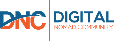 dnc digital nomad community logo